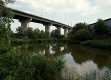 Purfleet, Dartford, Q.E. Bridge Essex © David Hallam-Jones,